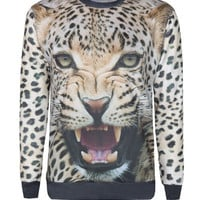 sirenlondon — Cheetah Sweater