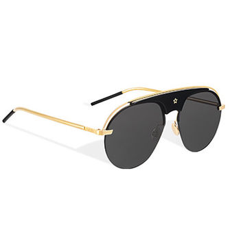 """dio(r)evolution"" sunglasses, black and gold-tone - Dior"