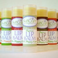 Organic Lip Balms - Pick One... or Several