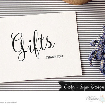 Printable Wedding sign Gifts sign DIY wedding design wedding signage Gifts thank you wedding table signs wedding template DIY wedding design
