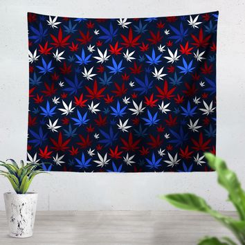 USA Weed Tapestry