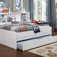 Claire Full Size Storage Bed