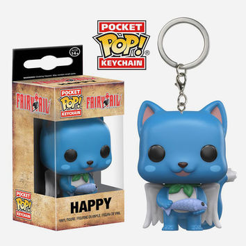 FUNKO Pop! Fairy Tail: Happy Keychain