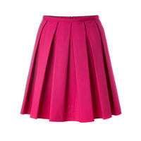 Valentino R.E.D. - Stretch Cotton Pleated Skirt