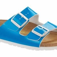 BIRKENSTOCK ARIZONA NEON BLUE WOMENS SANDALS