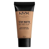 NYX Stay Matte But Not Flat Liquid Foundation - Nutmeg - #SMF14