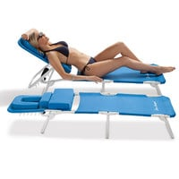 Ergonomic Beach Lounge Chairs at Brookstone—Buy Now!