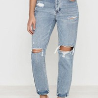 VONE05W PacSun Favorite Blue Mom Jeans