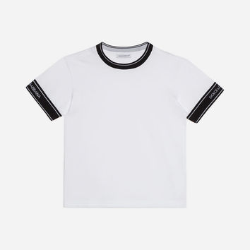 Boys' T-shirts | Dolce&Gabbana - COTTON T-SHIRT