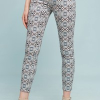 7 For All Mankind Mirage Low-Rise Skinny Jeans