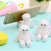 iFavor Novelty Big Hero 6 The Baymax Characters Universal Phone Stand Phone Accessories Mobile Phone Holder Support for iphone 7