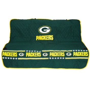 Green Bay Packers Pet Car Seat Cover