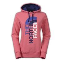The North Face Trivert Pullover Hoodie Womens Snowcone Red/Garnet Purple XL