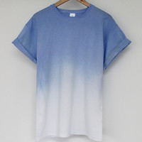 ANDCLOTHING — Lavender AND Dip Dye Tee