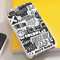 The xx, coldplay, arctic monkeys, the neighbourhood - TCO91 - iPhone 4/4s, iPhone 5/5s/5c, iPhone 6, iPod 5th, Samsung S3/S4/S5 Case