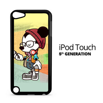 Hipster Mickey Mouse iPod Touch 5 Case