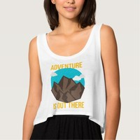 """Adventure Is Out There"" Flowy Tank Top"