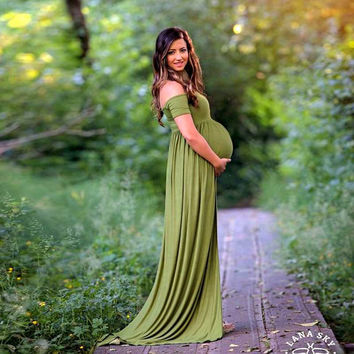 2017 maternity photography props maxi Maternity gown Lace Maternity Dress Fancy shooting photo summer pregnant dress Plus size