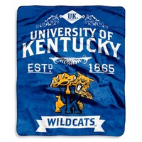 University of Kentucky Raschel Throw