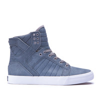 SKYTOP in SLATE BLUE - WHITE | SUPRA Footwear