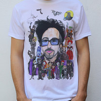 Tim Burton T shirt Artwork by hatoola13