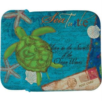 CREYCY8 Sea Turtle Fabric Tablet Cover