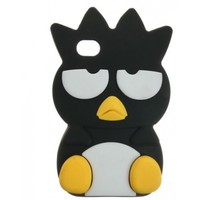 BLACK BADTZ-MARU IPHONE 4/4S & 5 CASE.