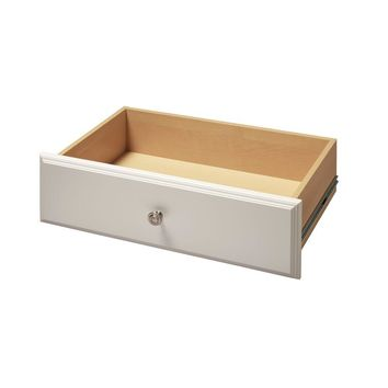 Martha Stewart Living 8 in. x 24 in. Classic White Deluxe Drawer Kit-W9 - The Home Depot