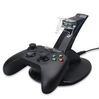 Dual Charging Dock For Xbox One Wirelss Gamepad Charger With LED Light Bar For Xbox One