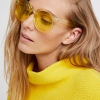 Free People Watercolor Abbey Road Sunglasses