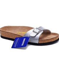 Men's and Women's BIRKENSTOCK sandals Madrid Birko-Flor 632632288-053