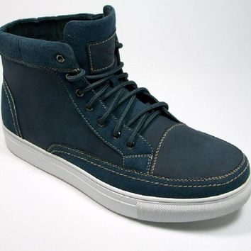 Men's Polar Fox High Top Lace Up Sneaker Boots 55010 Blue-368