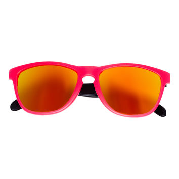Bangers - Spring Break Keyhole Sunglasses - Sunrise (Pink)