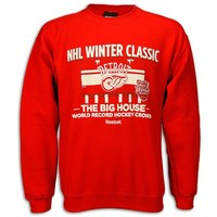 2014 Winter Classic Detroit Red Wings Fleece Crewneck Sweatshirt by Reebok - Detroit Athletic