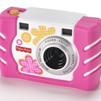 Fisher-Price Kid-Tough Digital Camera, Pink