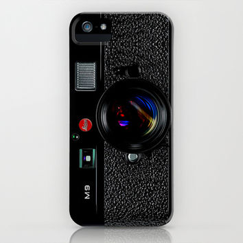 Classic retro Black Leica M9 vintage camera apple iPhone 4 4s, 5 5s 5c, iPod & samsung galaxy s4 case