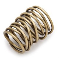 Kelly Wearstler Twisted Brass Ring | SHOPBOP