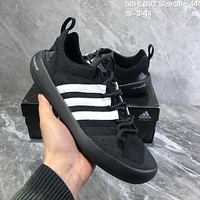 DCCK2 A982 Adidas Terrex boat Retro breathable Wire Intervention Water Shoes Black