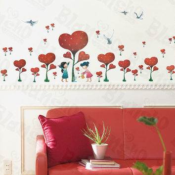 Definitive Love - Large Wall Decals Stickers Appliques Home Decor