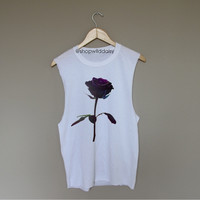 Dark Rose - White