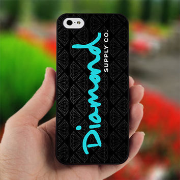 Diamond Supply Co Logo - print on hard cover for iPhone 4/4s and iphone 5 - dont forget to leave message for device and color case