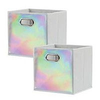 Studio 3B™ Cube Grid Bins (Set of 2)