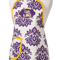 LSU Damask Apron