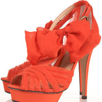 LILA Coral Bow Platform Sandals - Heels - Shoes - Topshop USA
