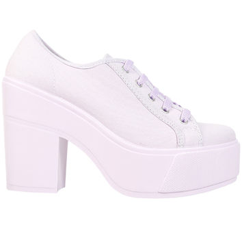 Shellys London FUNCLUO Platform Sneaker - Purple