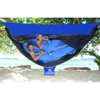 New & Improved For 2015 - Hammock Bliss Sky Tent 2 - A Revolutionary Tent For 1 or 2 Hammocks Off The Ground - Stay Dry From The Rain, Safe From The Bugs With Ample Space For You And Your Gear!