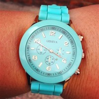 Mint Colored Watch