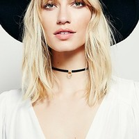 Luiny Womens Luiny Sol Leather Choker