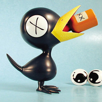 Drinky Crow Vinyl Figure - Dark Horse - Drinky Crow - Action Figures at Entertainment Earth