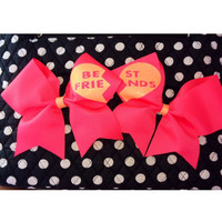 Best Friends Cheer Bow (BFF Bow)